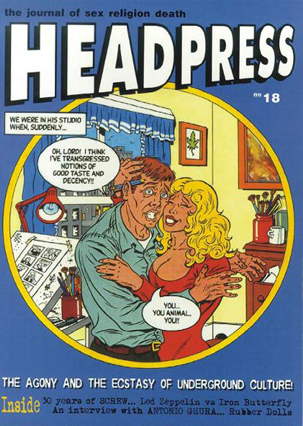 Cover of Headpress 18