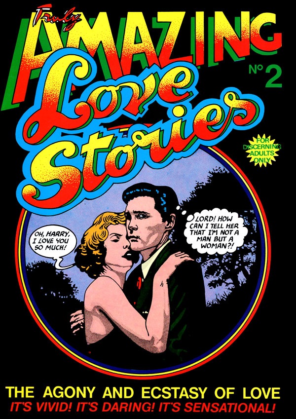 Cover of Truly Amazing Love Stories #2
