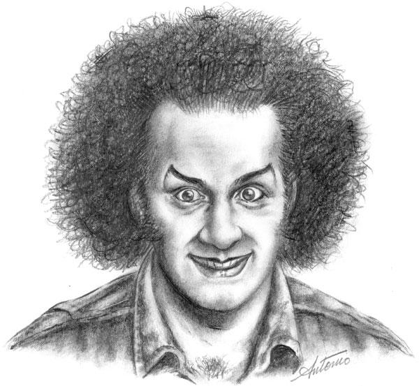 Antonio Ghura self portrait