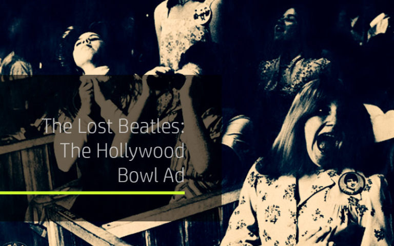 Featured title for Beatles lost TV ad