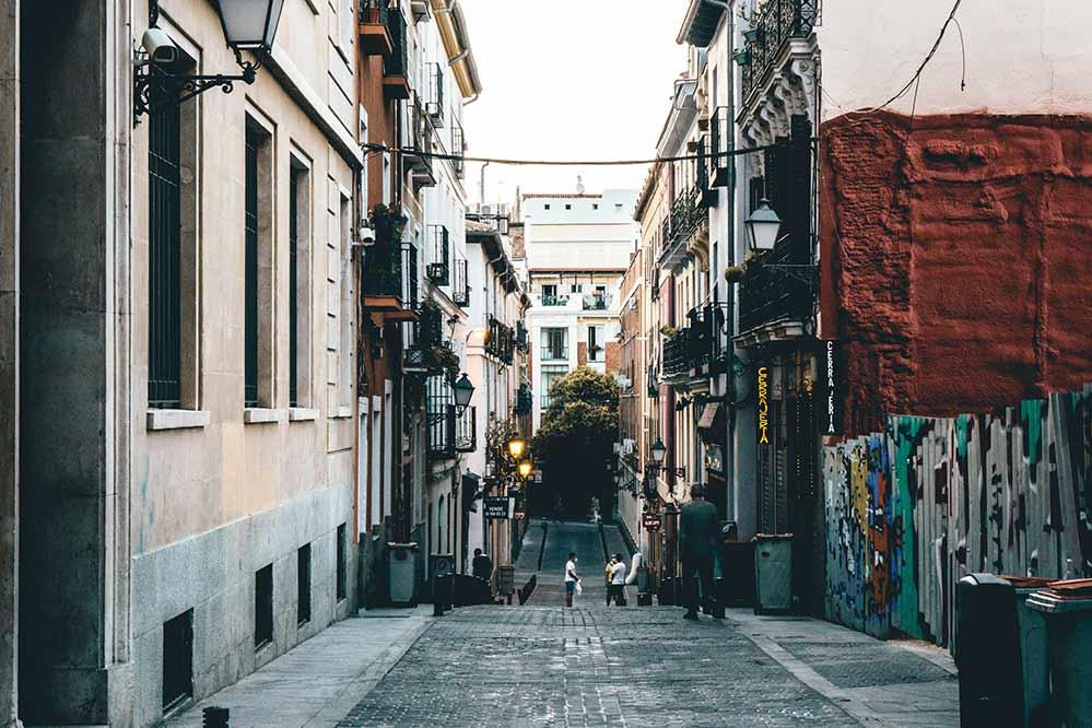 Empty street by Jhosef Anderson