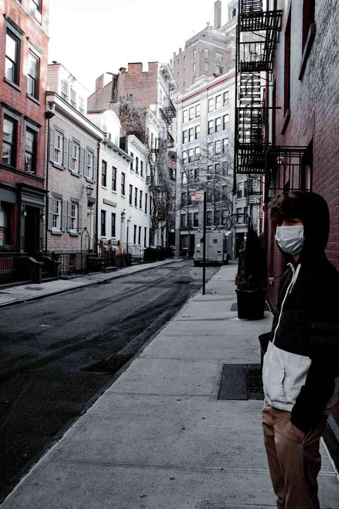 Street scene by Nicholas Byrne