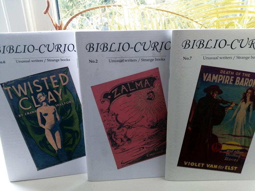 Biblio-Curiosa covers