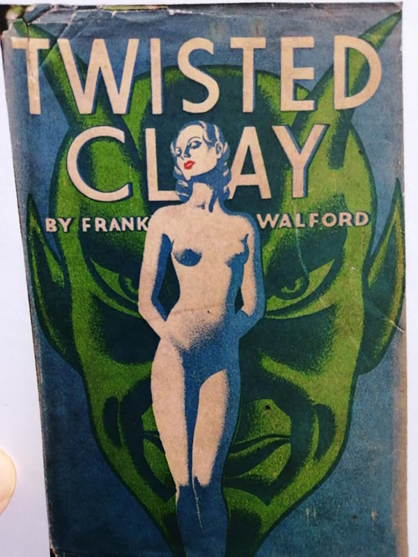 Cover of Twisted Clay