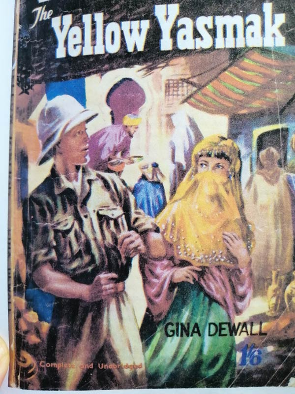 Cover of The Yellow Yasmak