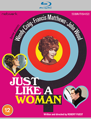 Blu-ray box for Just Like A Woman
