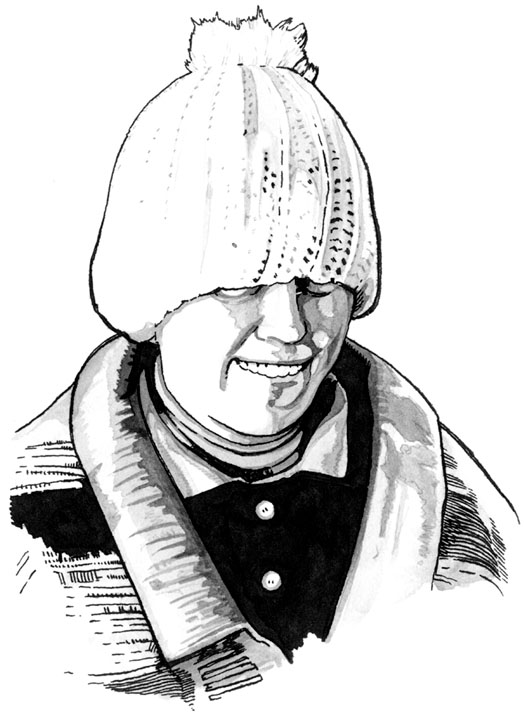 Drawing of Elsie in Strangehaven